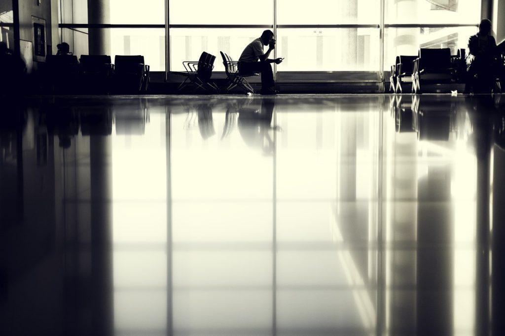 Aeroport attente avion
