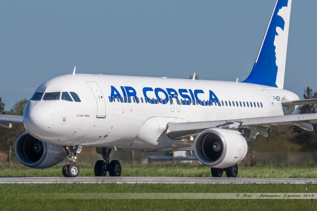 Vol Air Corsica