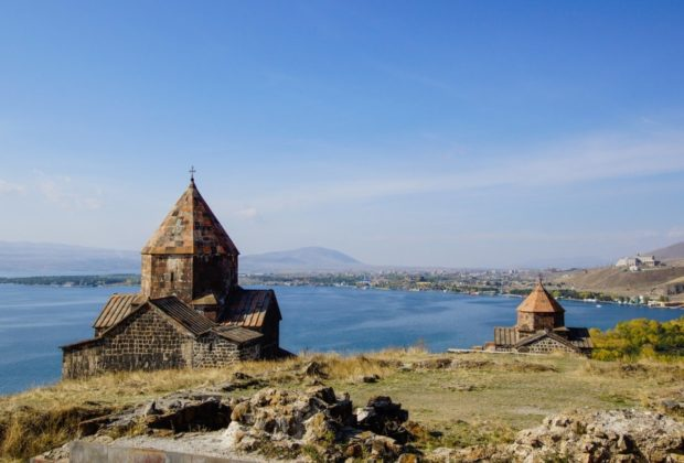 Lac Sévane en Arménie
