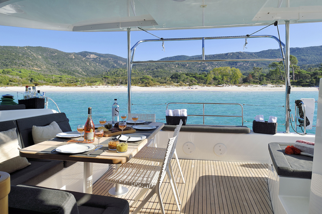 location de catamaran en Corse