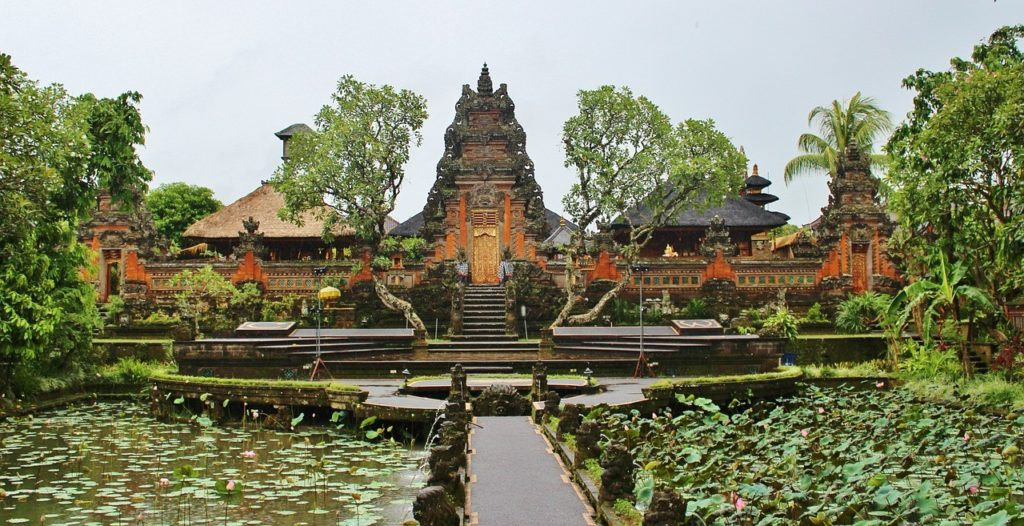 Temple Ubud à Bali