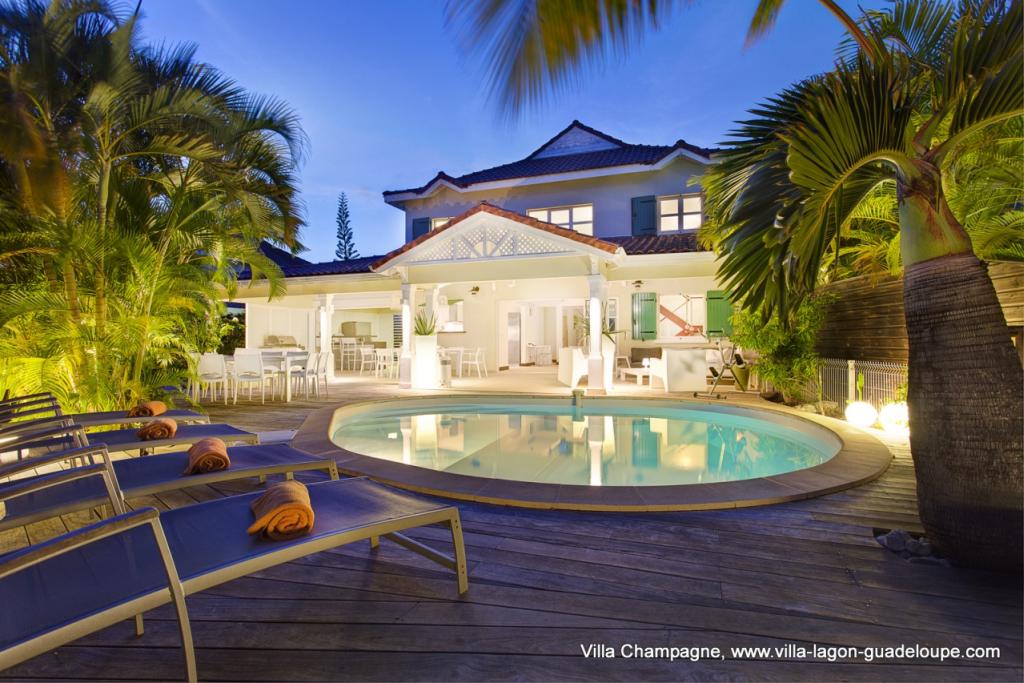Location de villa de luxe en Guadeloupe