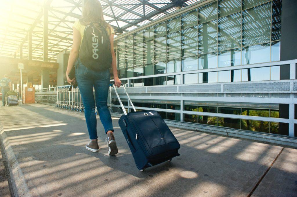 aeroport valise en soute