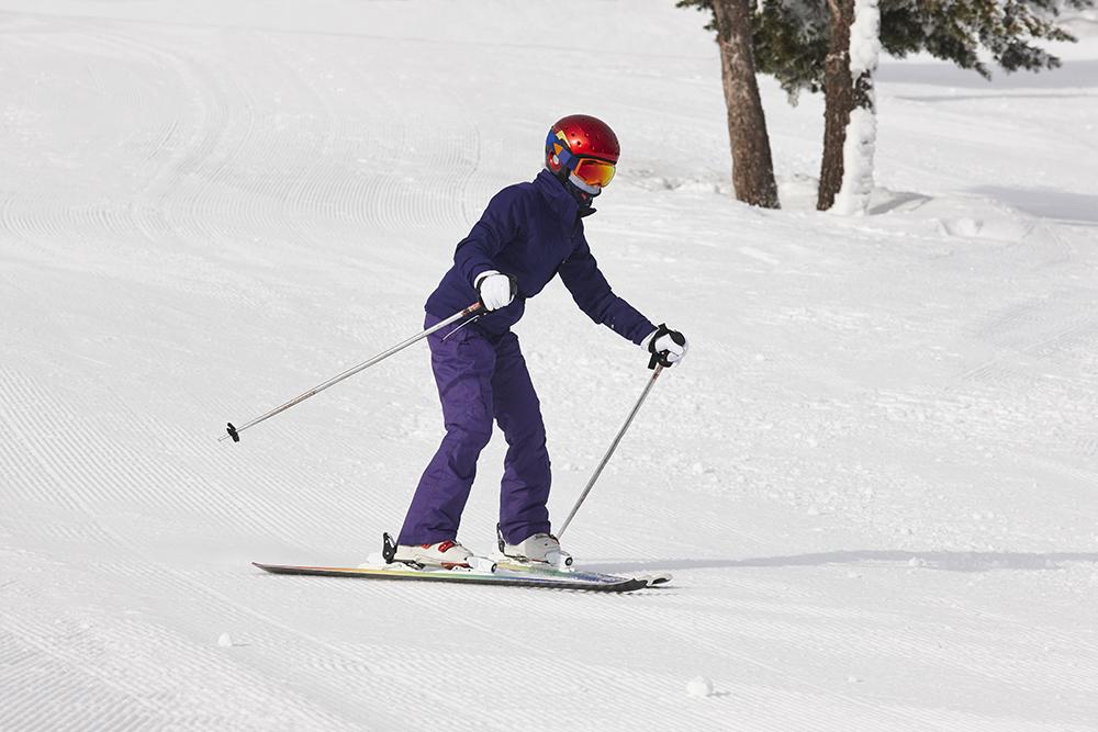 apprendre le ski