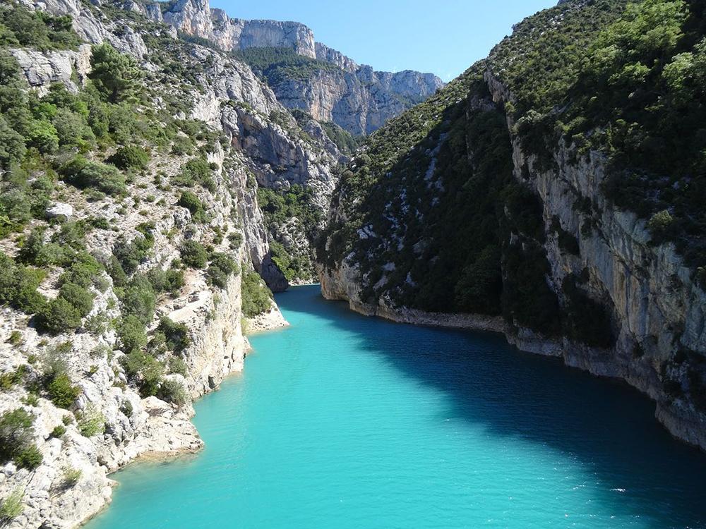 Basses Gorges du Verdon Canoë Camping la Beaume