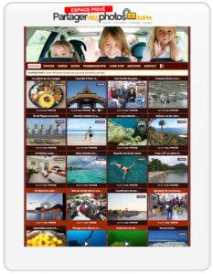 carnet de photos de voyage privé en ligne