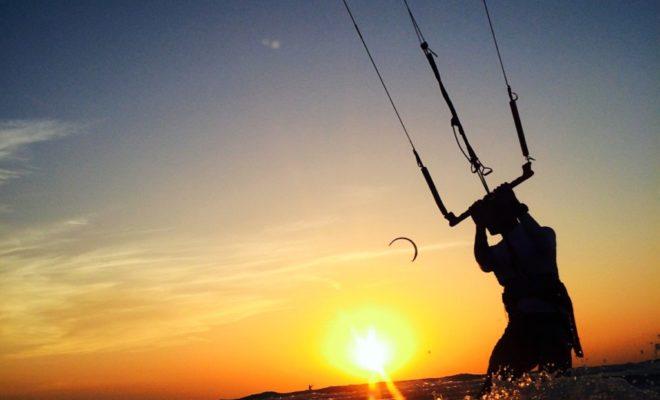 kitesurf à Dubaï