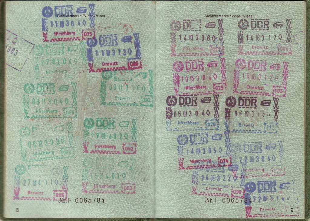 étape Visa