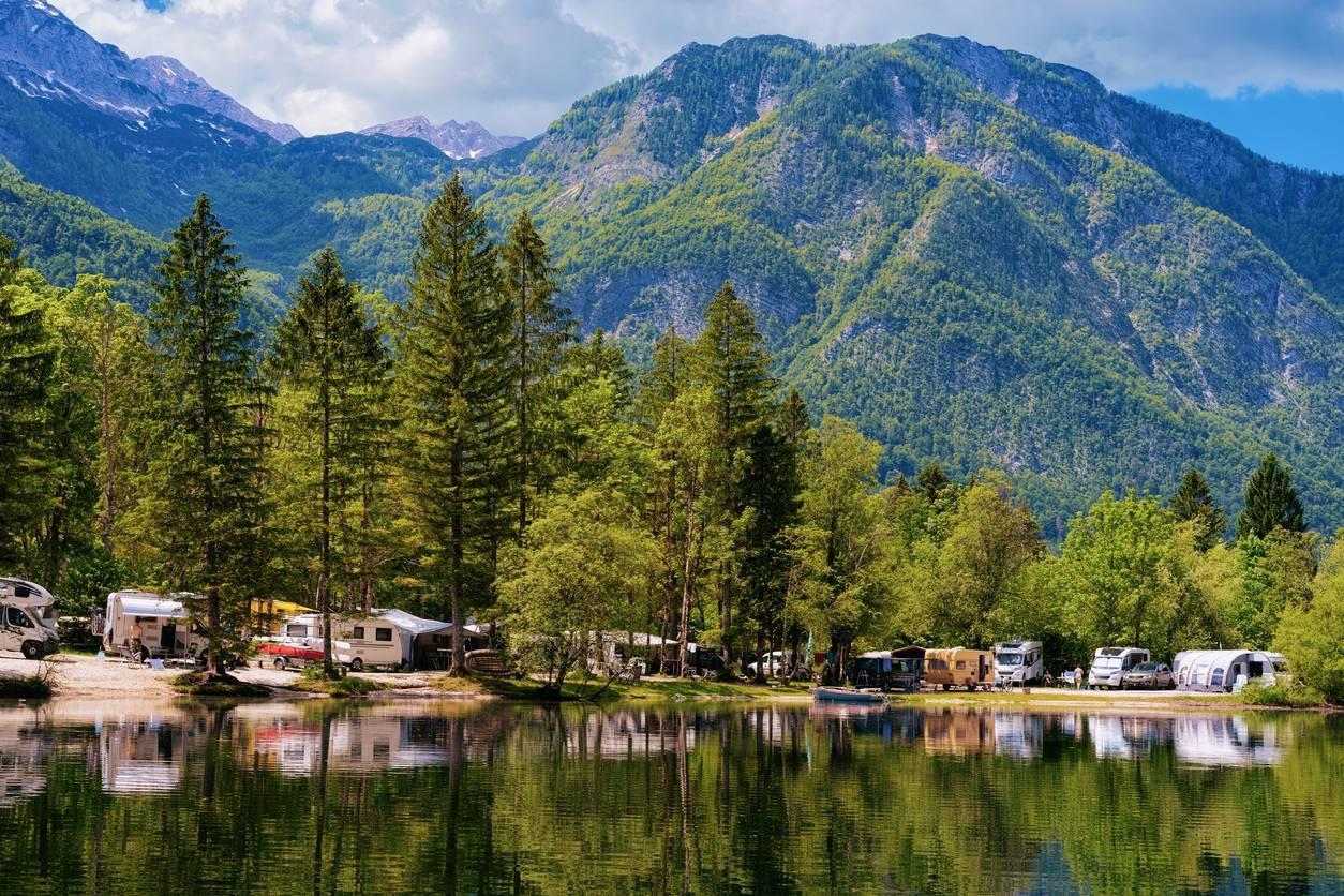 les plus beaux spots de campings dans les Alpes