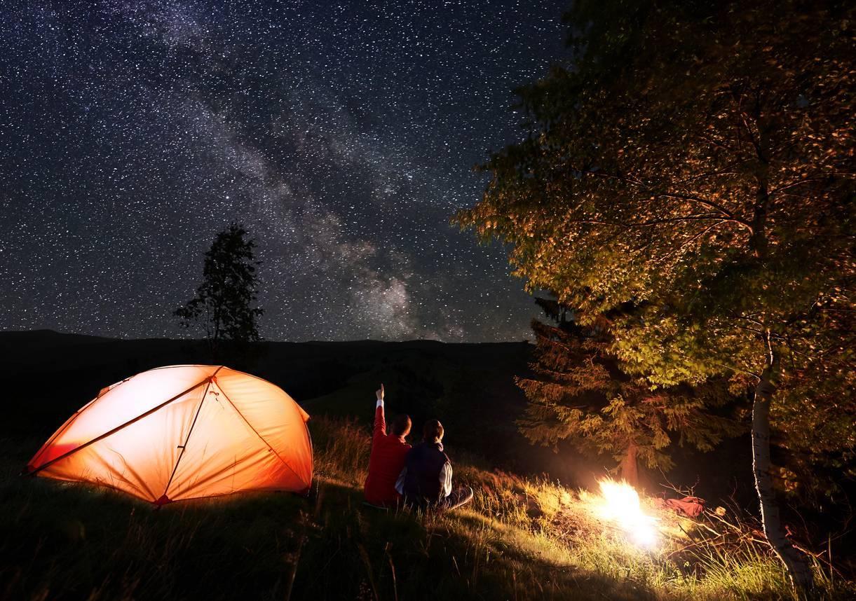 camping sous tente