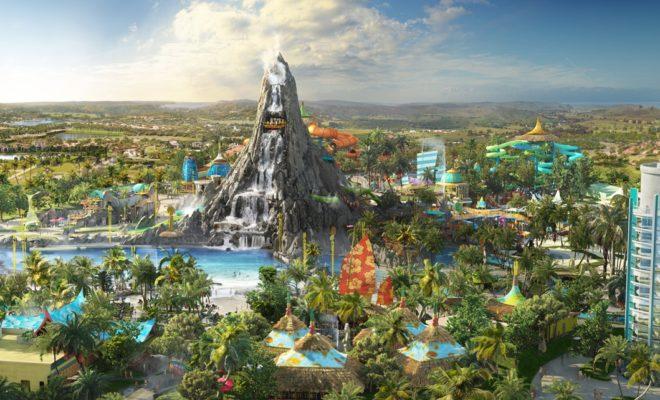 le parc aquatique de Volcano Bay Orlando
