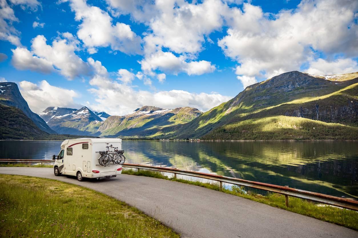 camping dans les Alpes