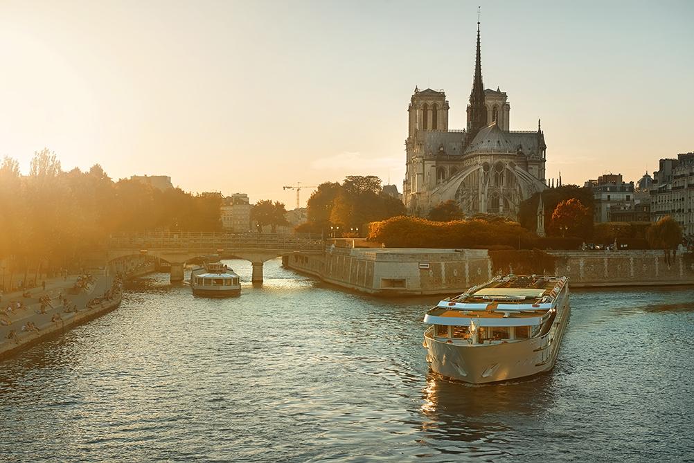 location de bateau sur la Seine