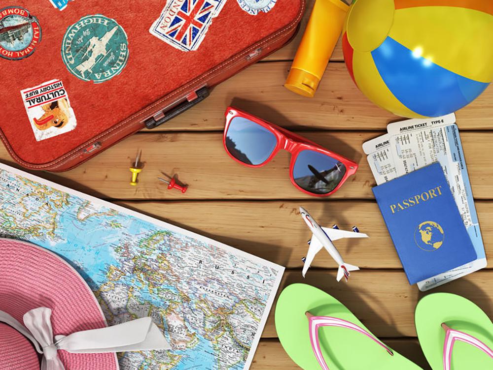 objets de voyage