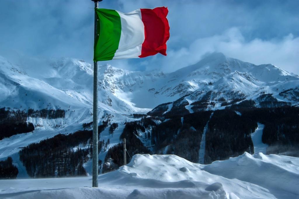 signification drapeau italien