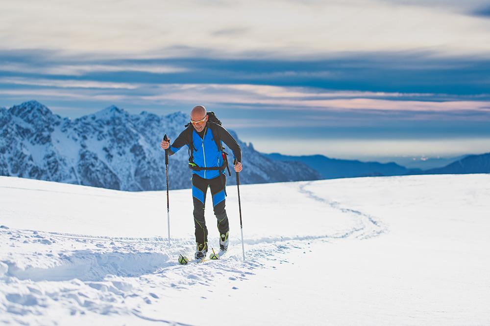 ski dans les Alpes du sud