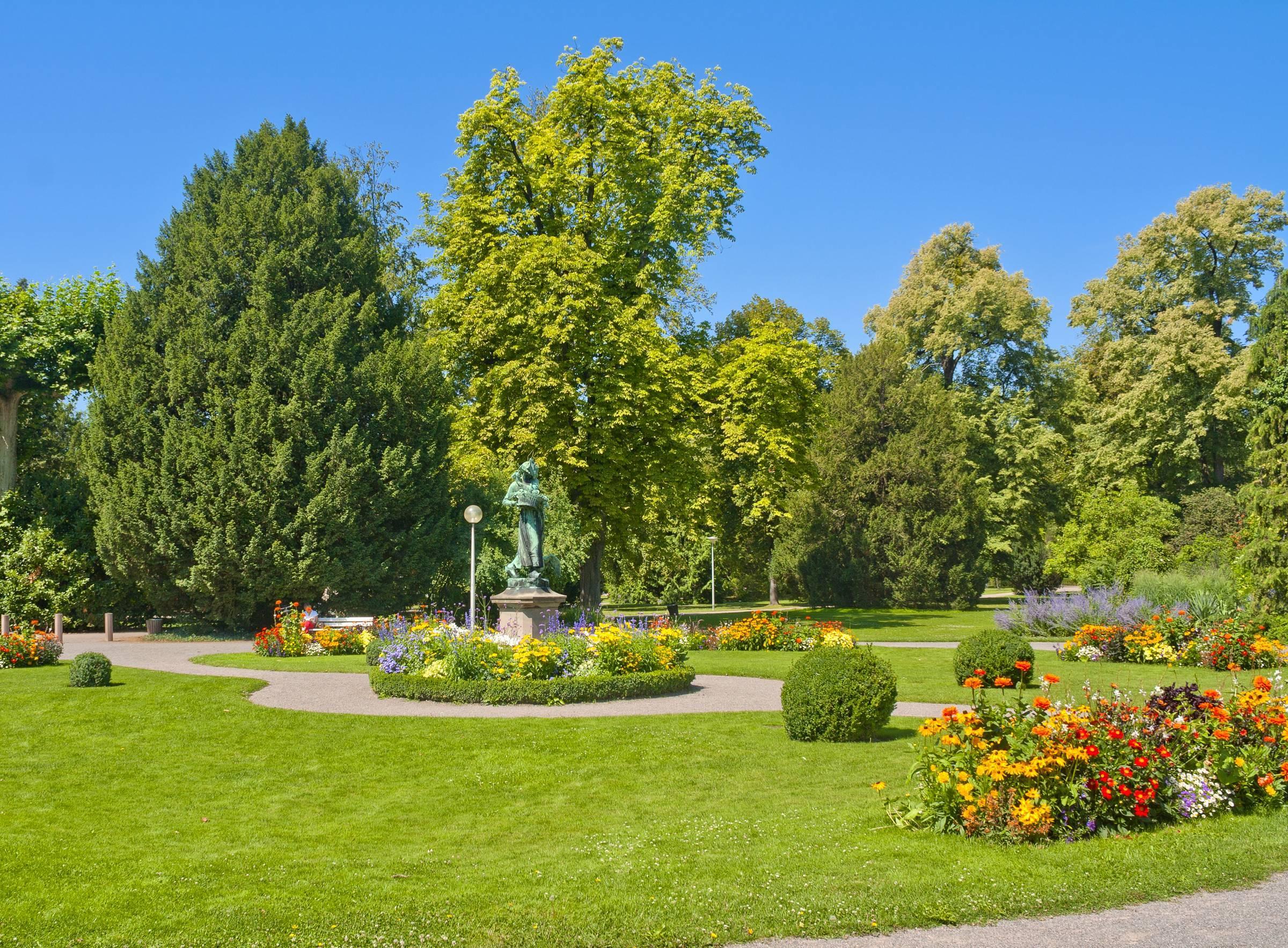 Parc de l'Orangerie à Strasbourg