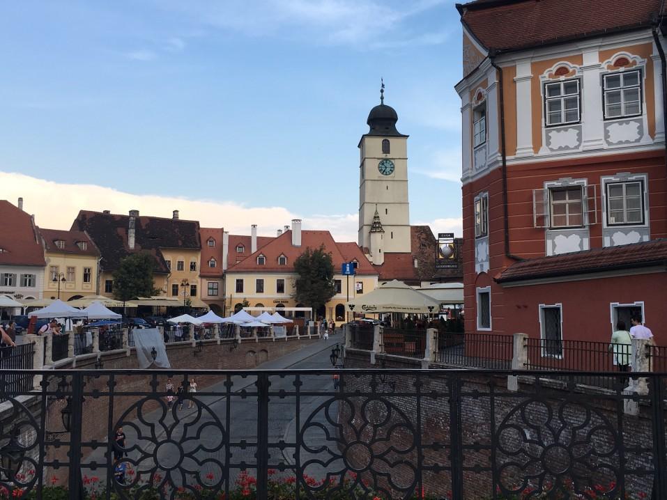 ville touristique Sibiu
