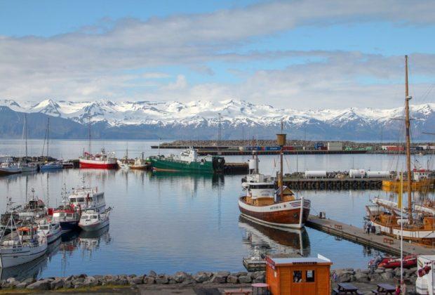 voilier dans l'arctique