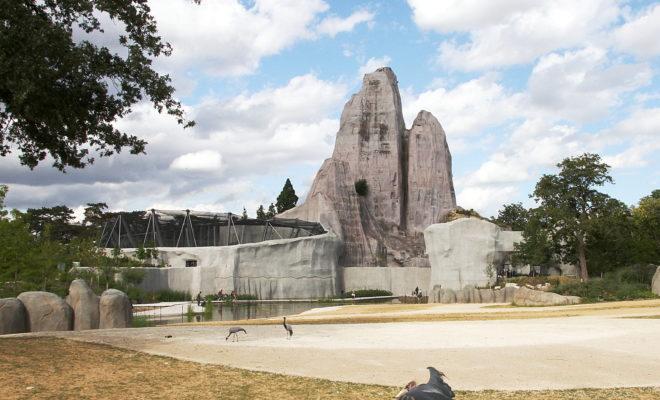 volière du zoo de Vincennes