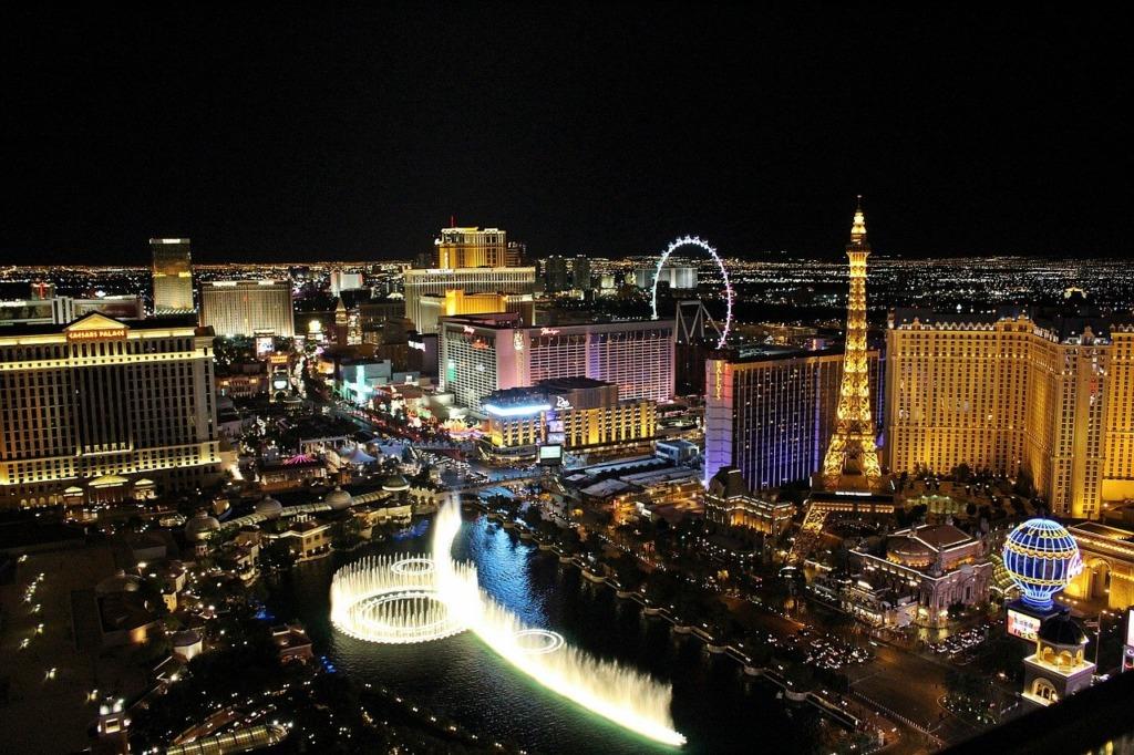 voyager à Las Vegas